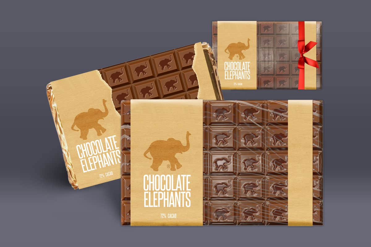 Chocolate Elephants Branding