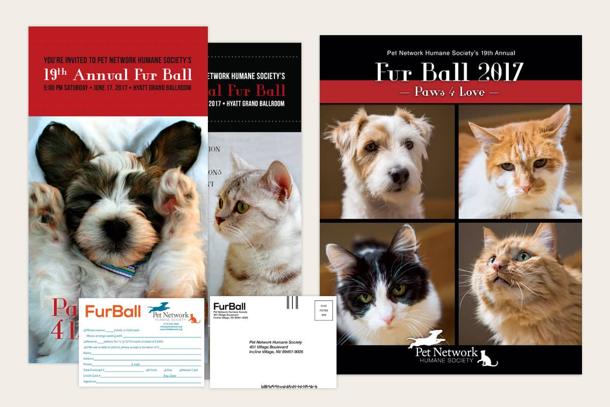 Pet Network Humane Society Fur Ball Package