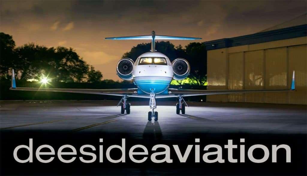 Deeside Aviation Business Cards