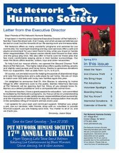 2015 Pet Network Spring Newsletter