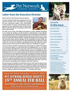 2016 Pet Network Summer Newsletter