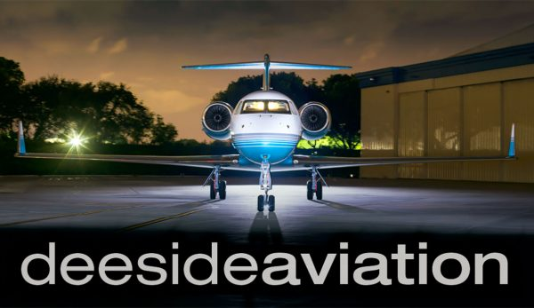 Deeside Aviation Business Card