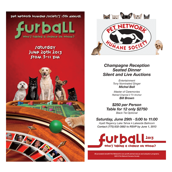 2013 Fur Ball Invite