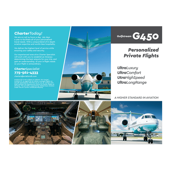 G450 Brochure Outside