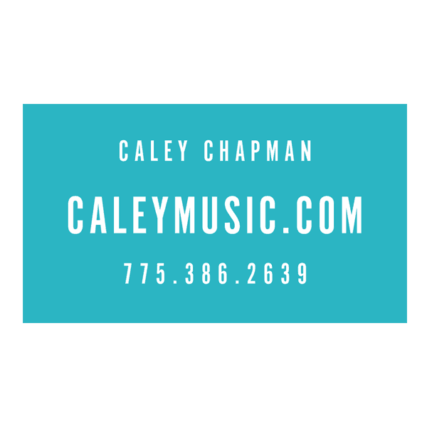 Caley Chapman Business Card