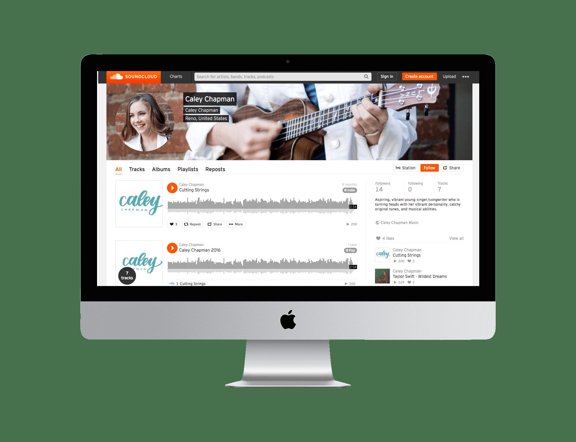 Caley Chapman Music Soundcloud