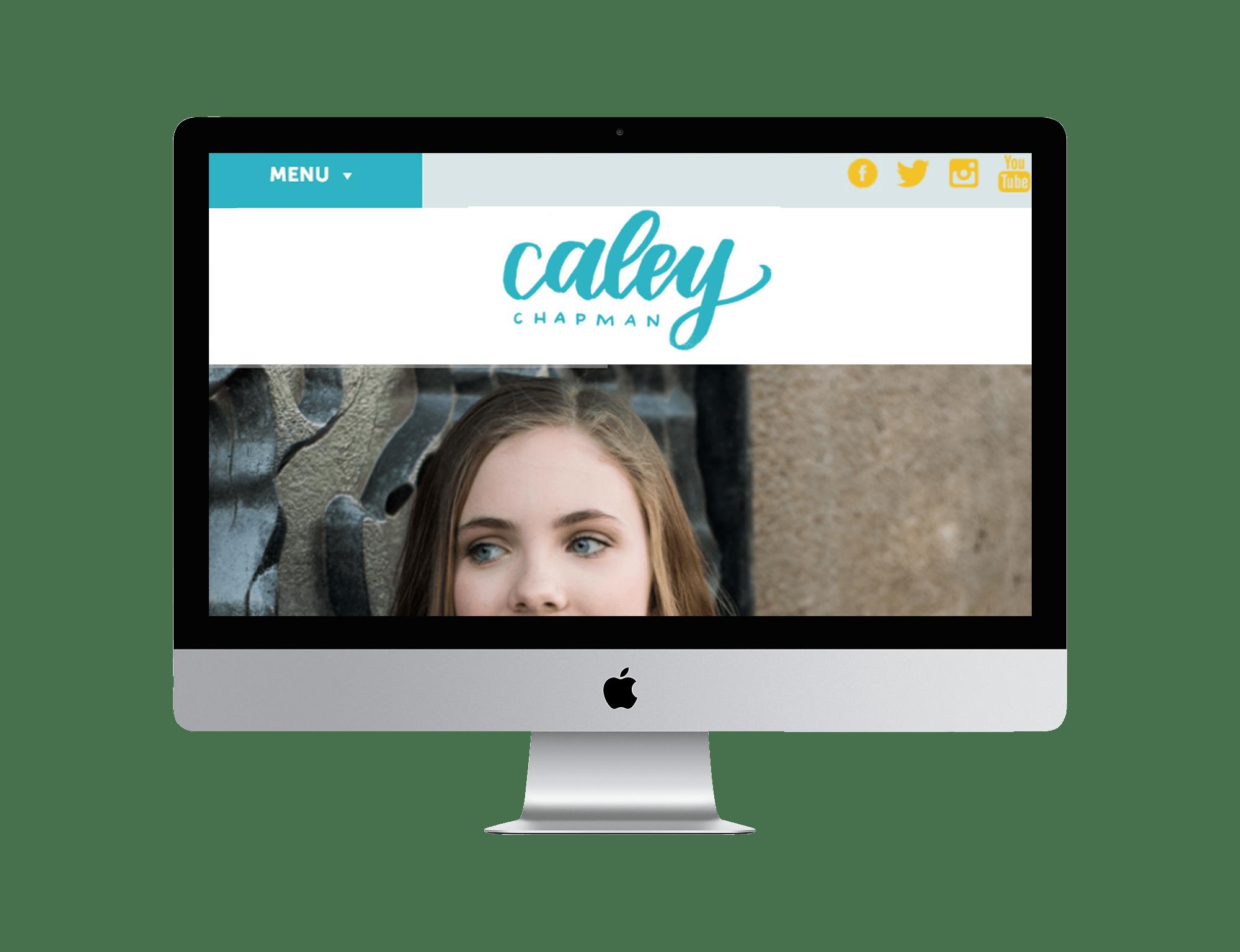 Caley Chapman Music Website