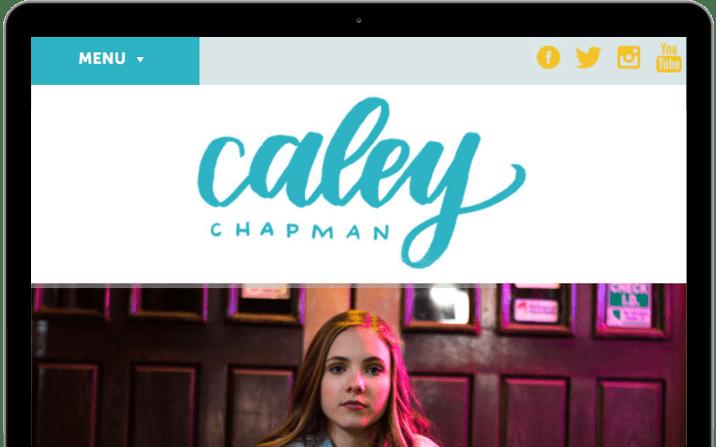 Caley Chapman Website
