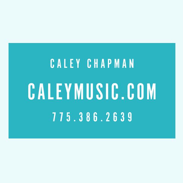 Caley Chapman Music Back