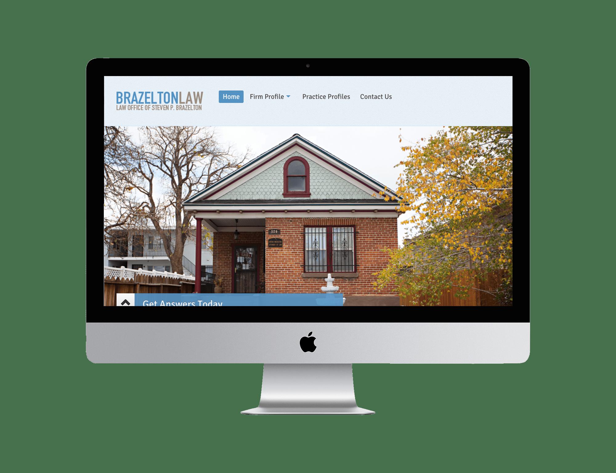 Brazelton Law Website