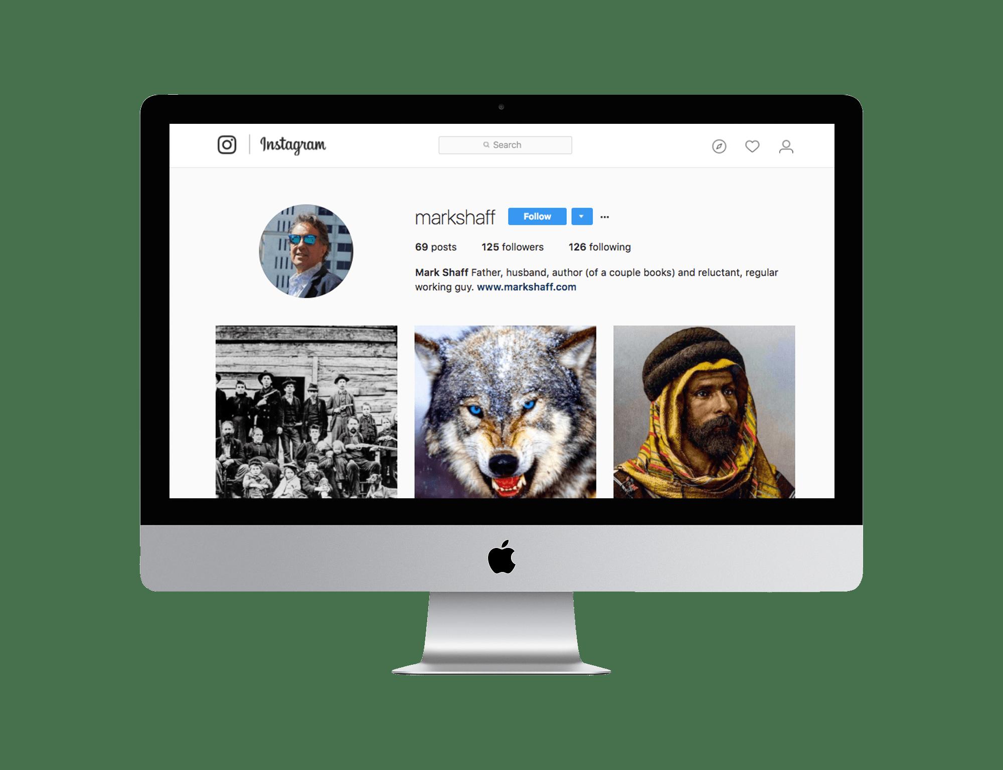 Mark Shaff Instagram