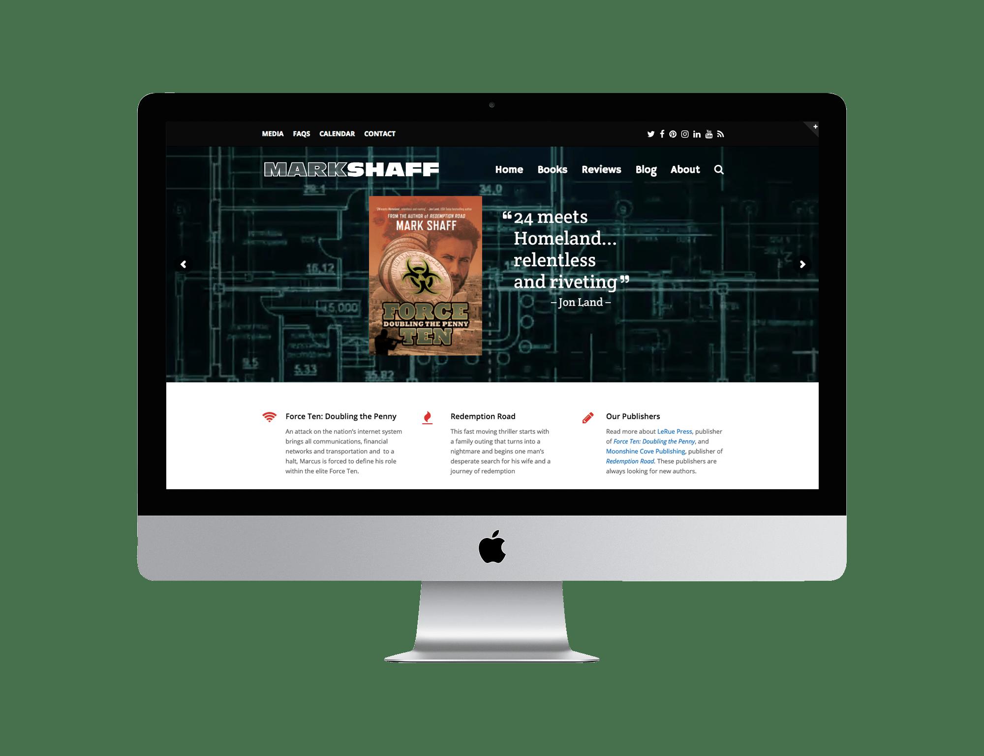 Mark Shaff Website