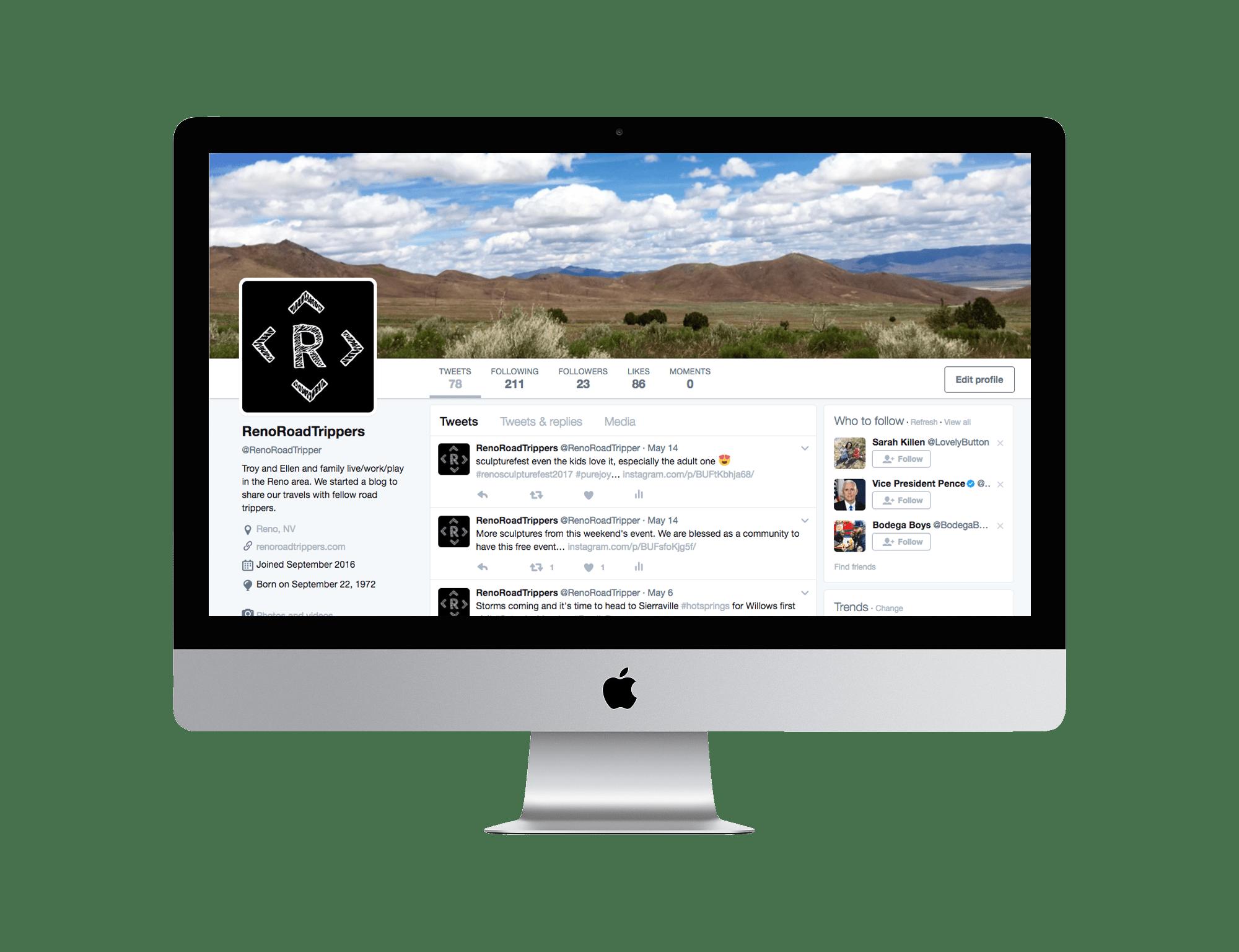 Reno Road Trippers Twitter