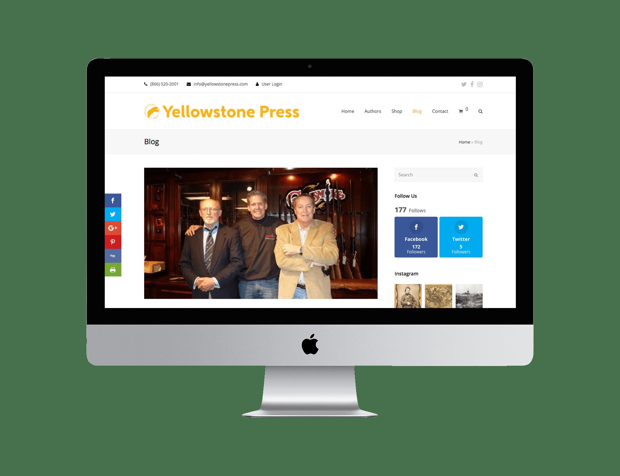 YellowstonePress.com Blog