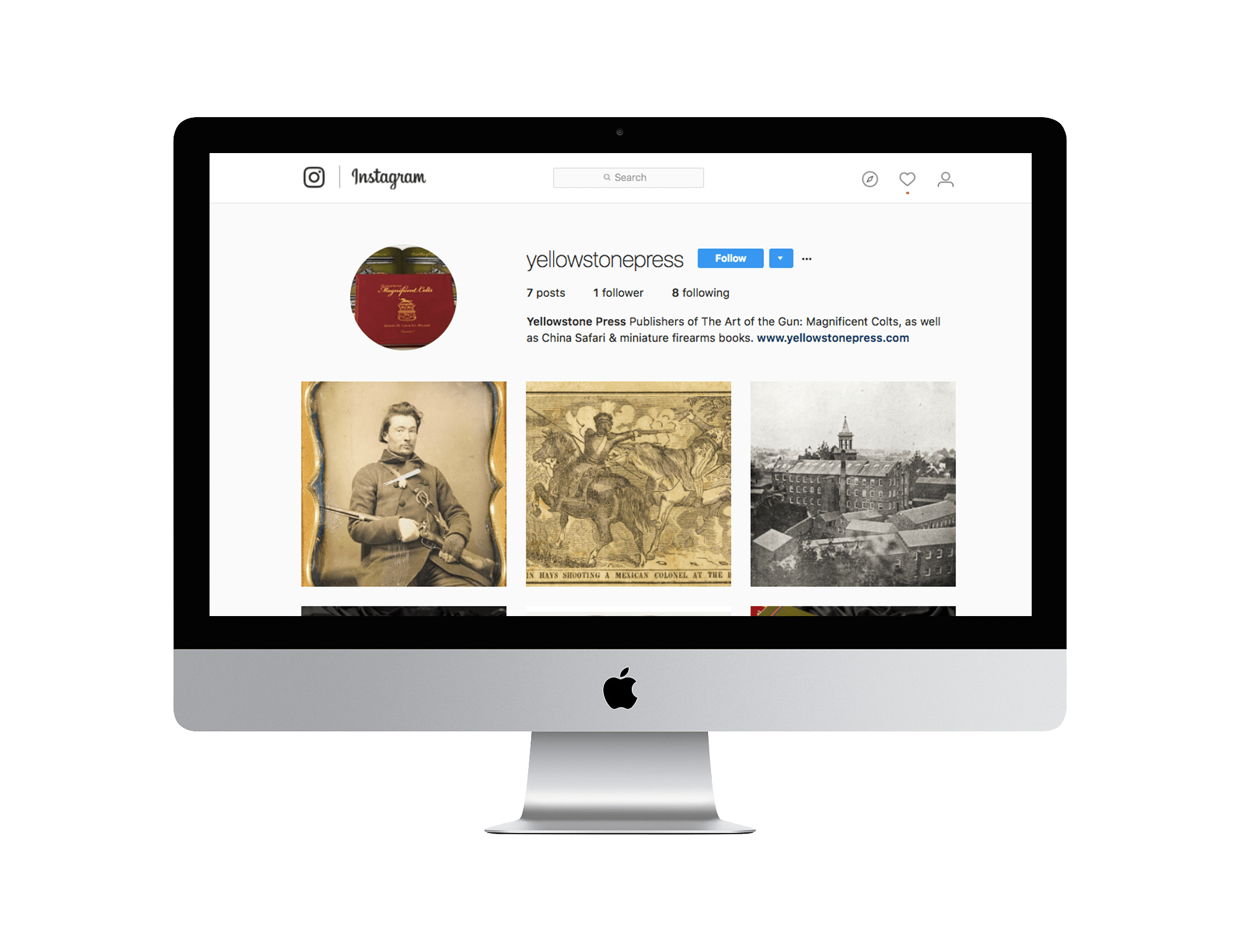 Yellowstone Press Instagram
