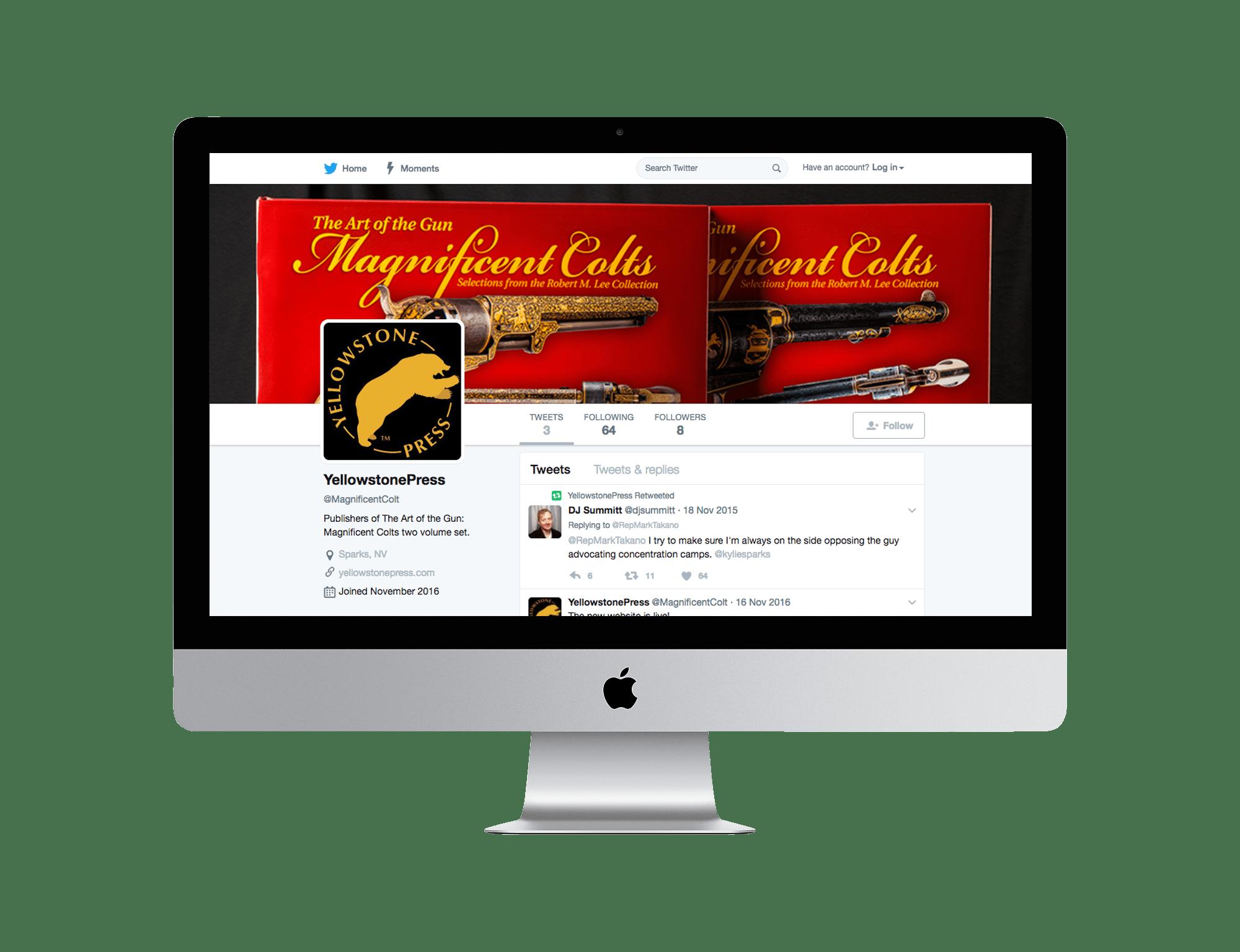 Yellowstone Press Twitter
