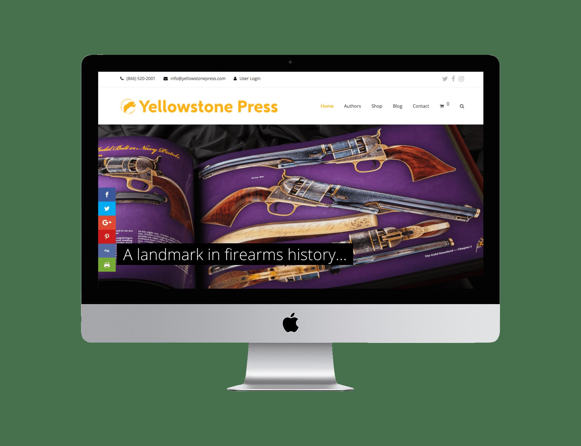 Yellowstone Press Website